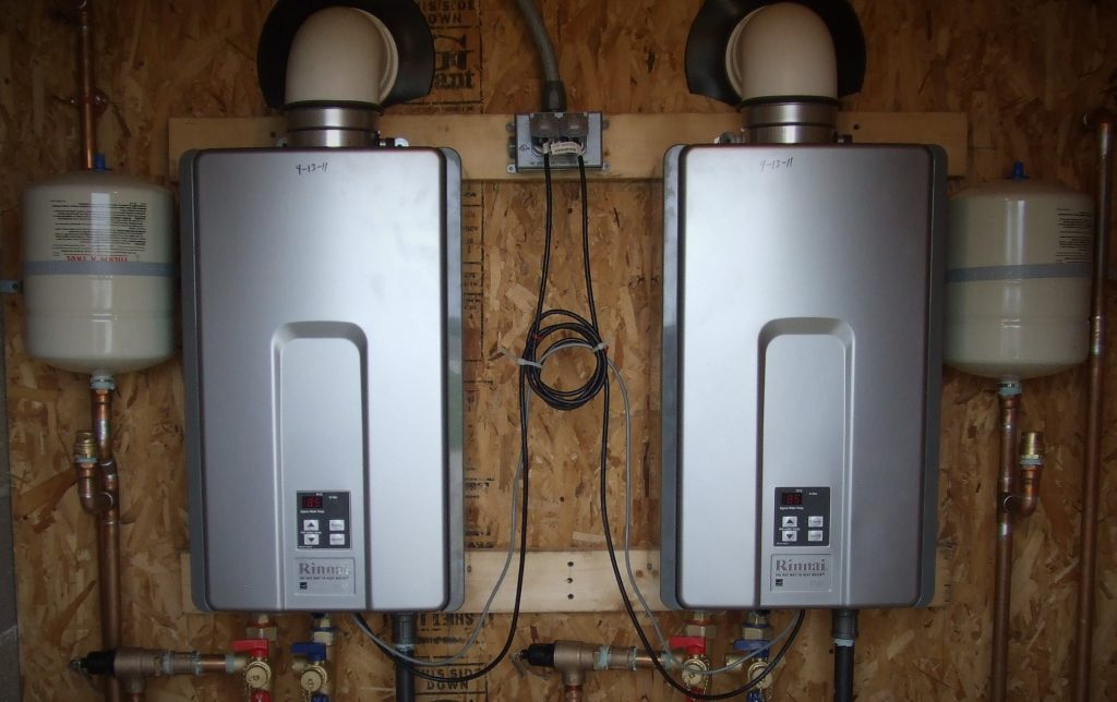 upper valley tankless water heater